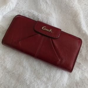 Authentic Coach Patent Leather Wallet